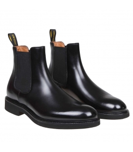 DOUCAL'S CHELSEA BOOT (GM) OLD NERO+F.DO NERO DU1343GENOUF028NN00