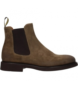 DOUCAL'S CHELSEA BOOT (GM) OIL TABACCO+F.DO T.MORO DU1343GENOUF011TC02