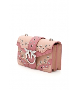 PINKO LOVE BAG PUFF QUILTING IN NAPPA DONNA ROSA