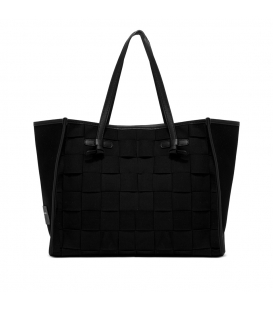 MARCELLA BS 8370 INT-CNV BORSA SHOPPING NERO