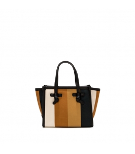 MARCELLA BS 8065 SUM.STRIP BORSA MINI NATURALE