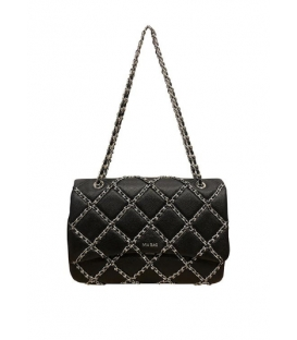 MIA BAG MB 21100 TRACOLLA LUX CHAIN NERO