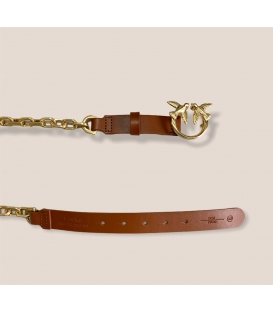 Pinko 1H20VHY6XM Z99 DAY SIMPLY BELT CUOIO
